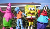 Turma do Bob Esponja e Backyardigans
