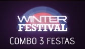 Winter Festival 2013 - Combo promocional de 3 festas